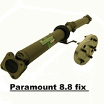 DODGE 2006-2008 Charger SRT-8 / 300C SRT-8 / Magnum SRT-8 (with Paramount 8.8 Differential) Chromoly 2-Piece Driveshaft