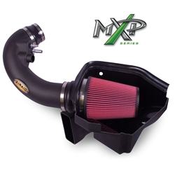 2011-2013 Ford 5L Airaid MXP Series Intake System, Black Tube, Red Filter