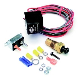 Painless Performance FAN-THOM Electric Fan Relay Kits, 195 Degrees On/ 185 Degrees Off