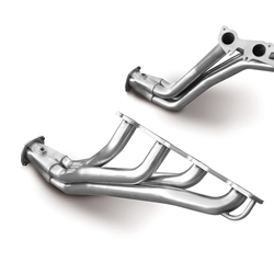Dynatech SuperMAXX Headers, Full-Length, Stainless Steel, Natural, 1 3/4 in. Primary Tubes, Chrysler, Dodge, Kit