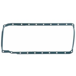 Fel-Pro Oil Pan Gasket, 1-Piece, Rubber/Steel Core, Chevy, Big Block, Each