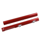 Aeromotive Hemi Fuel Rails, Red Anodized, Chrysler, Dodge, 300, Charger, Magnum, 5.7L, Pair 14146
