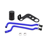 2010-2015 Chevy Camaro SS/ZL1 Mishimoto Blue BAFFLED OIL CATCH CAN, PCV SIDE, MMBCC-CSS-10PBE