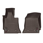 Corvette C7 WeatherTech Digital Fit Floor Liners Cocoa 475891