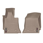 Corvette C7 WeatherTech Digital Fit Floor Liners Tan 455891