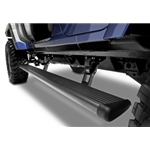 AMP Research 2018 Jeep Wrangler JL 4DR PowerStep Xtreme - Black (Incl OEM Style Illumination) 78132-01A