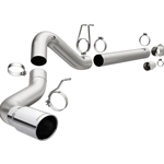 MagnaFlow 08-17 Ford F-250/F-350/F-450 6.4L/6.7L DPF-Back SS 5in Single Passenger Side Rear Exit 17872