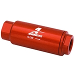 Aeromotive Fuel Filter, Inline Mount, Red, 10 Microns, -10 AN Female Inlet, Outlet, Each 12301