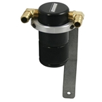 Moroso 85633 -Black Moroso PCV Air/Oil Separators
