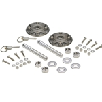 Hotchkis Quick Release Billet Hood Pin Kit 1760
