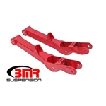 BMR Lower control arms, rear, non-adjustable, poly bushings TCA028R