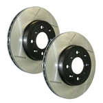Stop Tech Power Slot 10 Camaro SS 8cyl / 09 Pontiac G8 GXP Front Left Slotted Rotor  126.62124SL