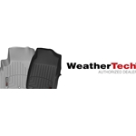Corvette C6 WeatherTech Digital Fit Floor Liners Black Knob 444731