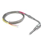 "Aeroforce EGT probe Type K thermocouple 6' cable 1/8"" NPT fitting"