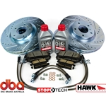 2014+ Corvette Z51 Track Upgrade Brake Package with DBA 4000 Frts