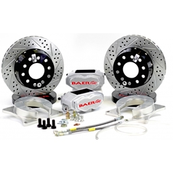 Brake System 11 Inch Rear SS4+ Deep Stage Clear 2015 Mustang BAER Brakes 4262695C