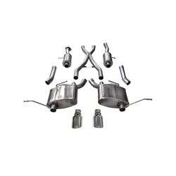 Corsa 15-16 Jeep Grand Cherokee Polished 2.5in Dual Rear Exit Cat-Back Exhaust 14991