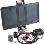 Remote Controlled Fold Away Licence Plate system 400eu