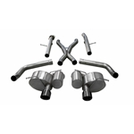 Corsa 12-20 Jeep Grand Cherokee SRT 2.75in Dual Rear Xtreme Cat-Back Exhaust - Black PVD Tip Finish 21058BLK