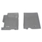 Westin 2008-2012 Honda Accord Wade Sure-Fit Floor Liners Front - Gray