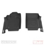Westin 09-12 Dodge/Ram Reg/Quad Cab (w/1 retention hook) Wade Sure-Fit Floor Liners Front - Gray