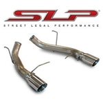 SLP 2005-2010 Ford Mustang 4.0L LoudMouth Axle-Back Exhaust w/ 3.5in Tip
