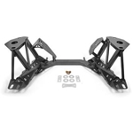 BMR 79-95 Ford Mustang K-Member Premium Version w/Spring Perches - Black Hammertone