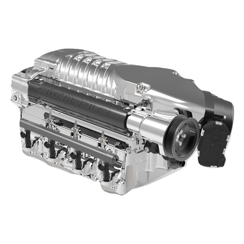 WHIPPLE POLISHED SUPERCHARGER SYSTEM INTERCOOLED WK-1000P