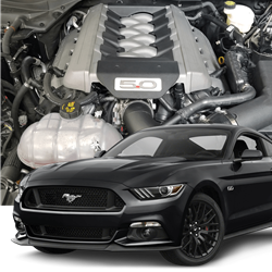 2017 Hellion Ford Mustang Gt Street Sleeper Twin Turbo System