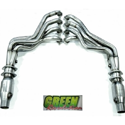 "Kooks 2016 Camaro SS V8 1-7/8"" Long Tube Headers and Green Catted Pipes 2260H430 - Coated"