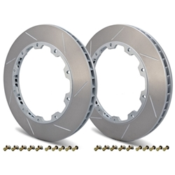 Girodisc 2pc Rear Rotor Ring Replacements - Porsche 350mm D2-032
