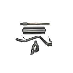 Corsa 14-17 Chevy Silverado 1500 5.3L V8 CC / SB 3in Single Side Exit Touring Cat-Back Exhaust 14848