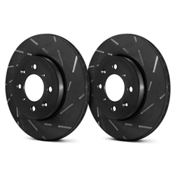 EBC 10-13 Chevrolet Corvette (C6) 6.2 Grand Sport USR Slotted Rear Rotors  USR7450