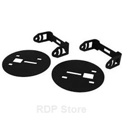 Rigid Industries 2015 Chevy 2500/3500 - Fog Light Brackets - Mounts 2 Dually/D-Series Lights 46535