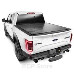 "WeatherTech AlloyCover Hard Truck Bed Cover 2004 + Ford F-150 5' 6"" Box (except Heritage) Black 8HF010015"