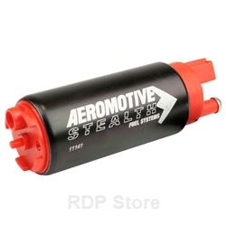 Aeromotive 340 Stealth Electric Fuel Pump, In-Tank, 340 Stealth, Offset Inlet, EFI