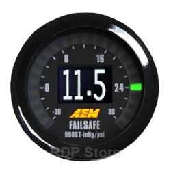 AEM Failsafe Wideband/Boost Gauge with Sensor 30-4900