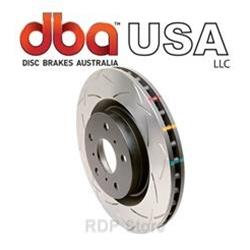 DBA C6 Chevrolet Corvette GS -Rear T3 4000 Series Uni-Directional Rotor Pair 42993s