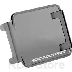 Rigid Industries Protective Polycarbonate Cover - Dually/D2 - Smoked 20198