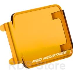 Rigid Industries Protective Polycarbonate Cover - Dually/D2 - Amber 20193