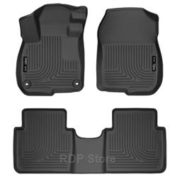 Husky Liners 2017 Honda CR-V Weatherbeater Black Front & 2nd Seat Floor Liners 99401
