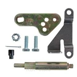 B&M Transmission Bracket, Steel, Natural, Buick, Chevy, Oldsmobile, Pontiac, Powerglide, Each