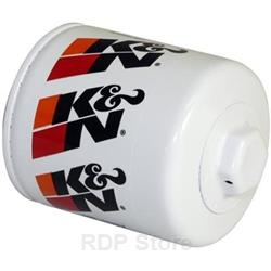 K&N Oil Filter, Performance Gold, 13/16-16 in. Thread, 3.80 in. High, Each HP-1007